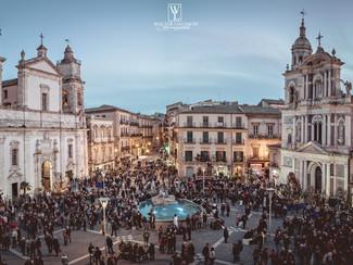 Foto Reportage del Giovedì Santo a Caltanissetta, Le Vare 2018