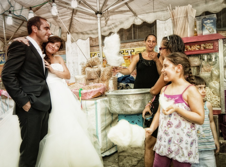 Fotografie sposi a Palermo