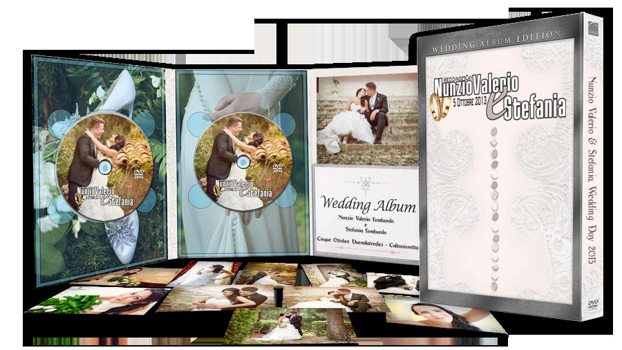 Servizio fotografico per matrimonio a Caltanissetta, consegna solo scatti in dvd