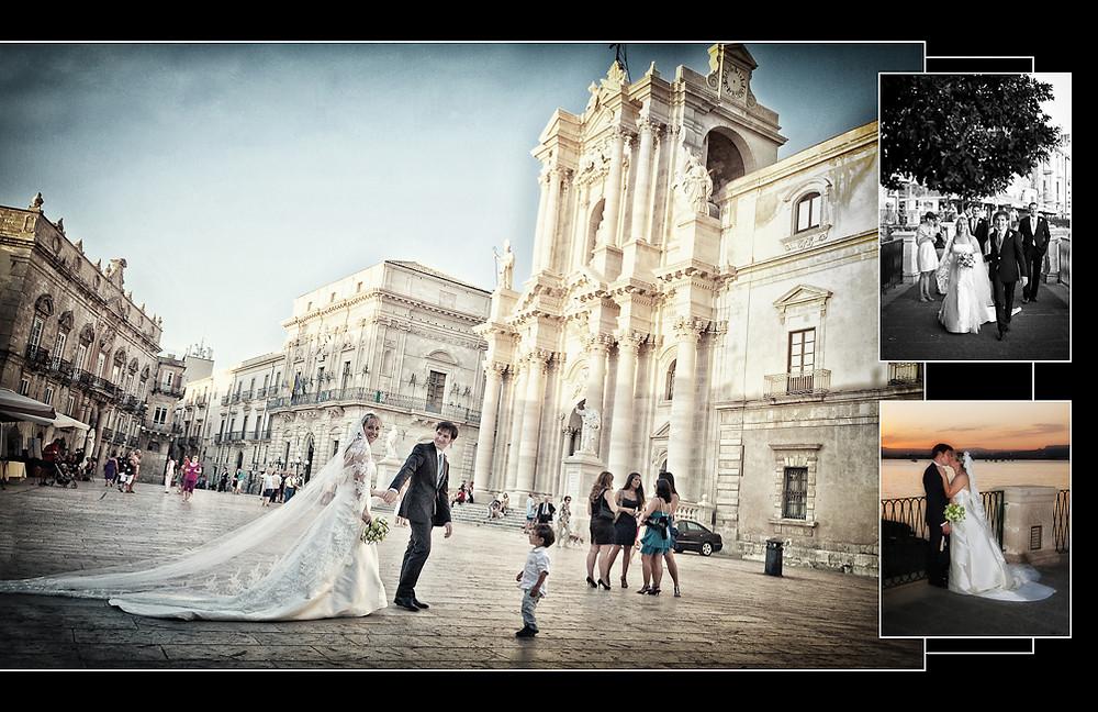 Servizio Fotografico per matrimonio a Siracusa