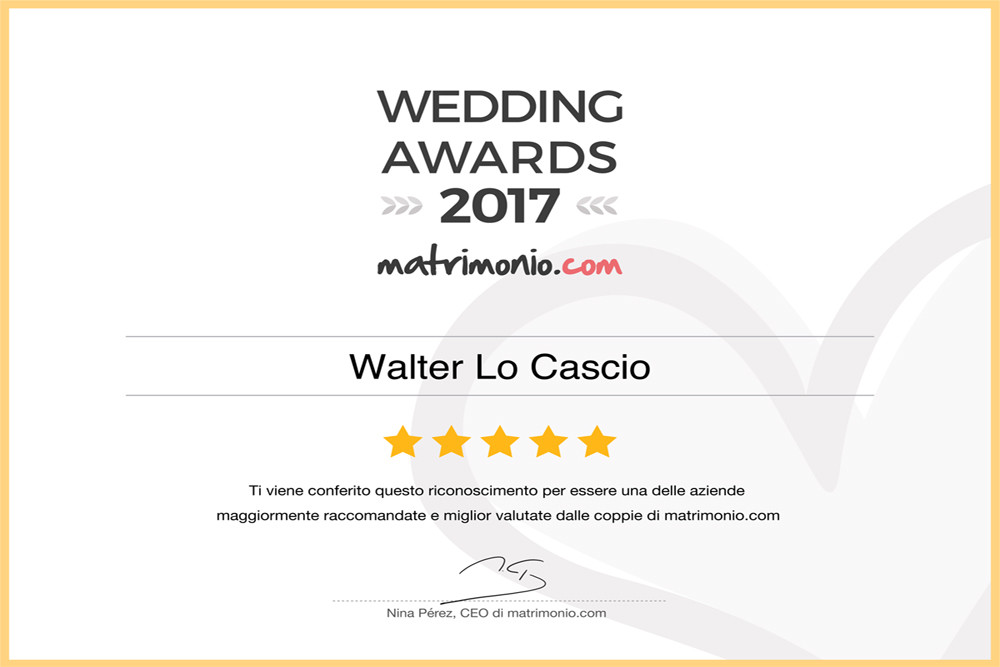 Wedding Award 2017