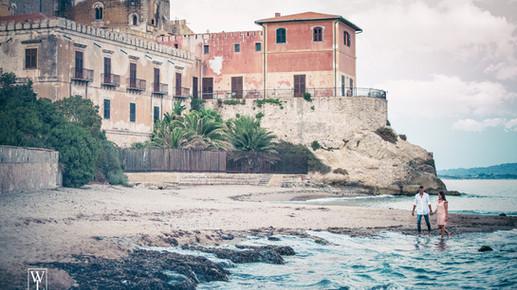 Pre Wedding al porto turistico di Licata e al Castello di Falconara. Andrea e Loredana.