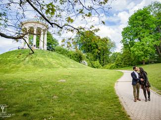 Prewedding a Monaco di Baviera, München, di Riccardo & Ambra