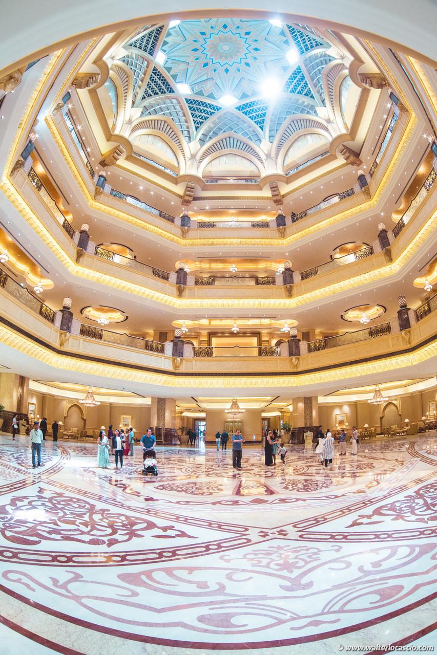 Fotografie Abu Dhabi Emirate Palace Hotel