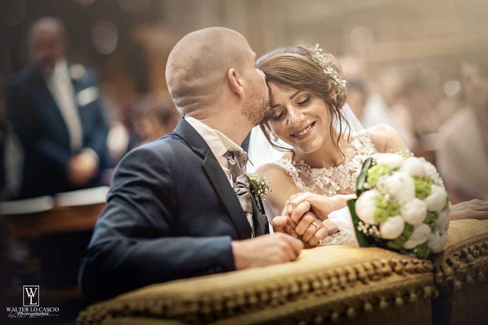 Sposi chiesa Sant'Agata al Collegio
