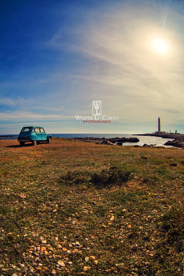 Isola di Favignana, Punta Sottile e Renault Diana