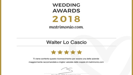 WEDDINGS AWARDS 2018 by matrimonio.com