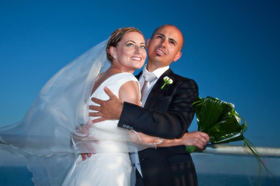 Gli sposi, fotografie a Castelvetrano