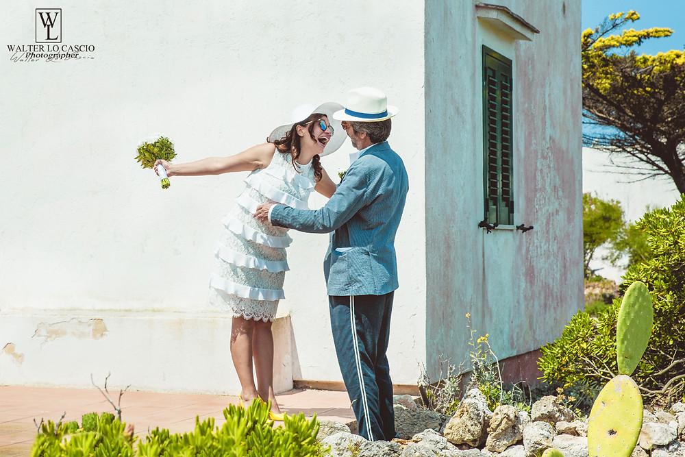 Sposi a Favignana, servizio Fotografico