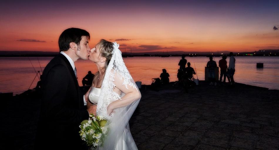 Foto location esterne con gli sposi