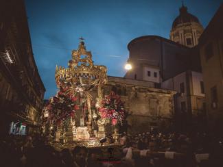 Reportage fotografico del Venerdì Santo 2018 a Caltanissetta: Il Cristo Nero