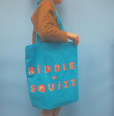 RiDDLE + SQUIZZ Tote