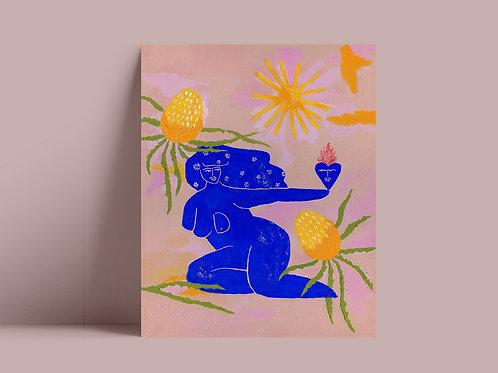 D'Banana Print