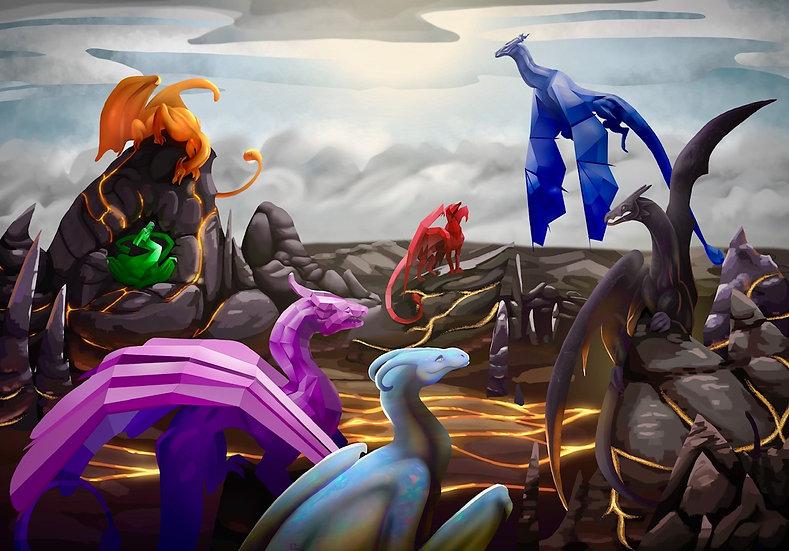 Gem Dragons