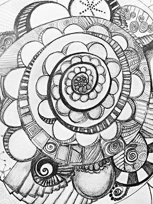 soul sounds-original print
