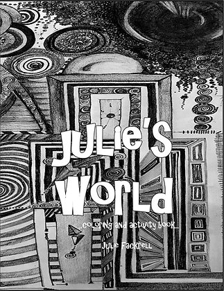 Julie's World Coloring & Activity Book