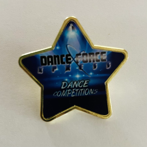 PIN - Dance Force Xpress Logo