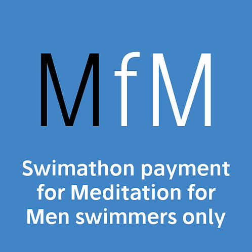 24 Hour Swimathon payment for Meditation For Men swimmers only