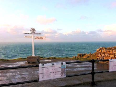 Lands End Signpost
