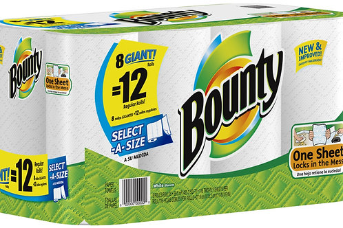 Towels, kitchen Roll Bounty