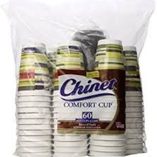 Cups, Chinet Hot Cup w?lid