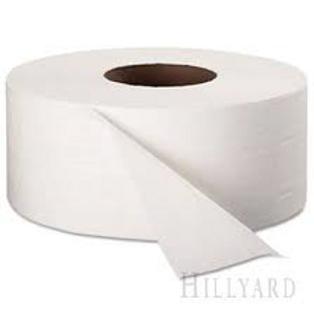 Toilet Tissue, Jr. Jumbo 9in rolls 12/case 1000 sheets per roll