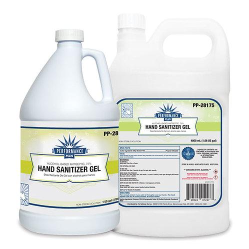 Performance Hand Sanitizer Gel w/Aloe 75% Alcohol Gallon w/Pump