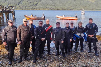 BSAC divers recover Highball wartime bombs from Scottish loch