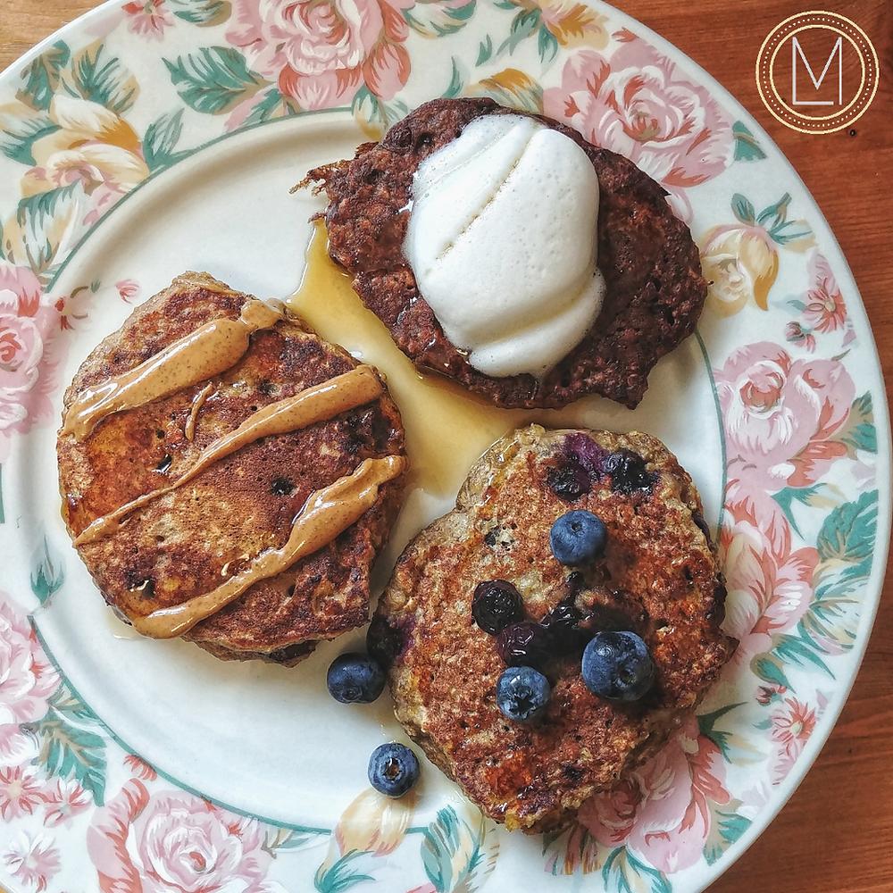 healthy pancakes, pancake recipe, gluten free pancakes, sunday breakfast