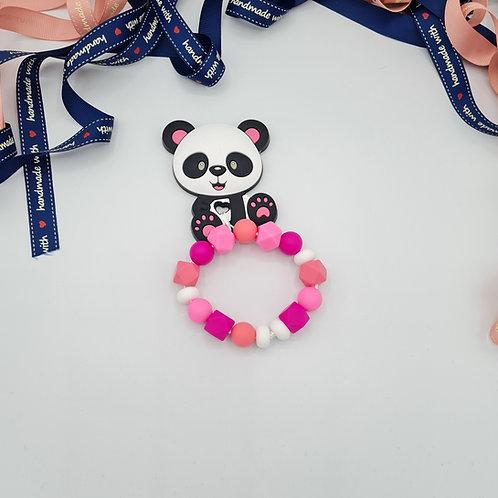 """Beißring """"Pandabär Rosa"""""""