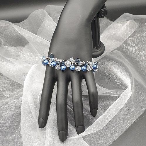 """Armband """"Blueberry Shine"""""""
