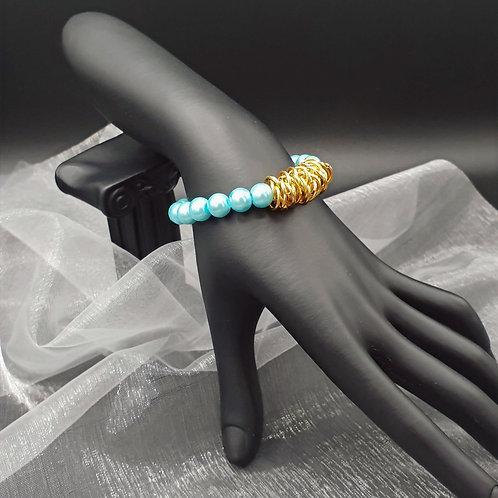 "Armband ""Aqua Shine"""