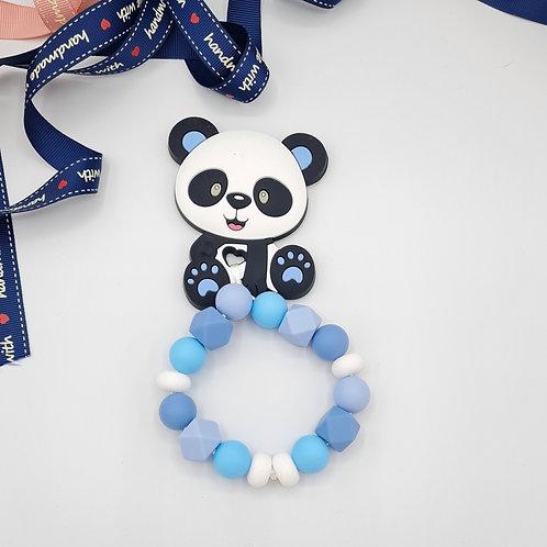 """Beißring """"Pandabär Blau"""""""