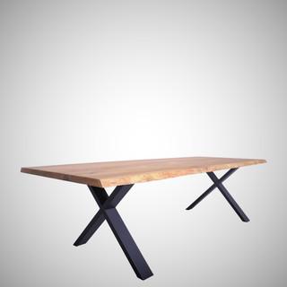 Oak wood tables - QUADRA