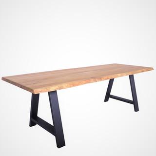 Oak wood table  - QUADRA