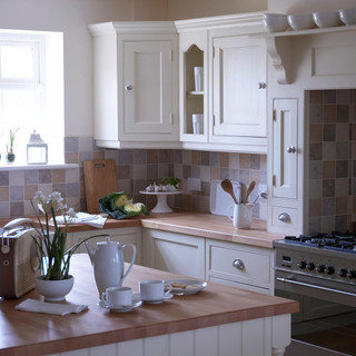 QUADRA - kitchens - wood worktop