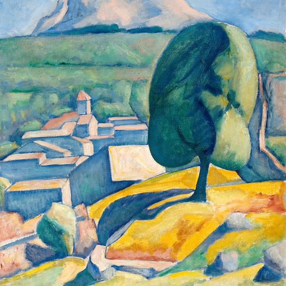 Czigány Dezső: Provence 1926-30 között/ olaj, vászon, 82x66cm
