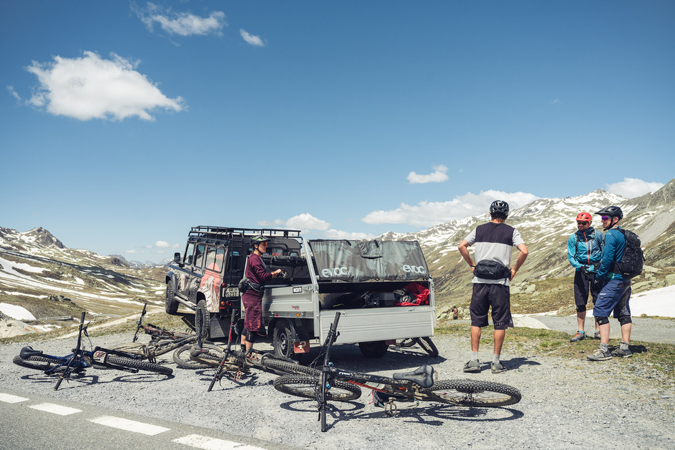 Mountainbike Shuttel au den Albulapass