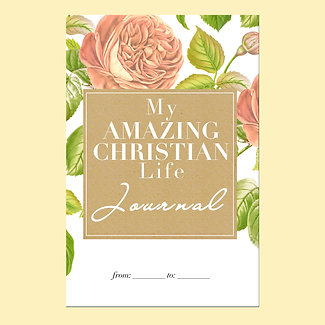 My Amazing Christian Life Journal