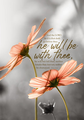 He Will Be With Thee