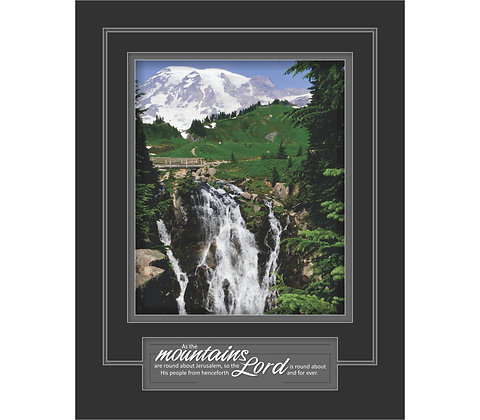 Mountains of the Lord 11 x 14- Psalm 125:2
