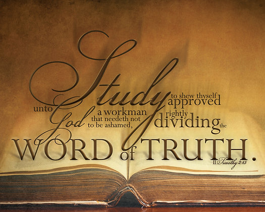 The Word of Truth 16 x 20 Print