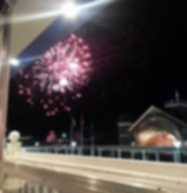 Wednesday Night Fireworks View