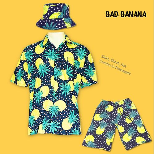 Men's funky pineapple combo