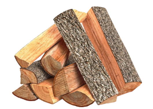 Stack of Ash firewood logs