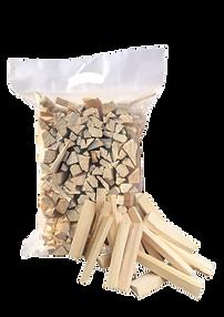 Bag of kiln dried kindling