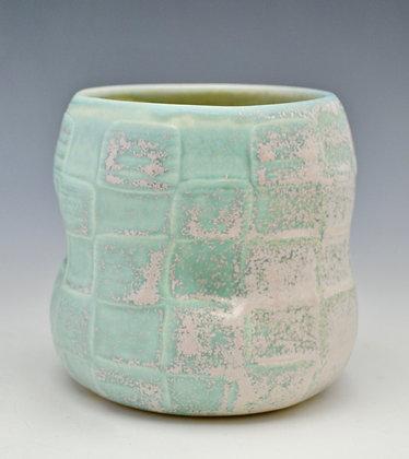 salt fired porcelain cup