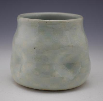 checkered celadon cup