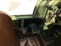 Spitfire Simulator Cockpit Left Wall