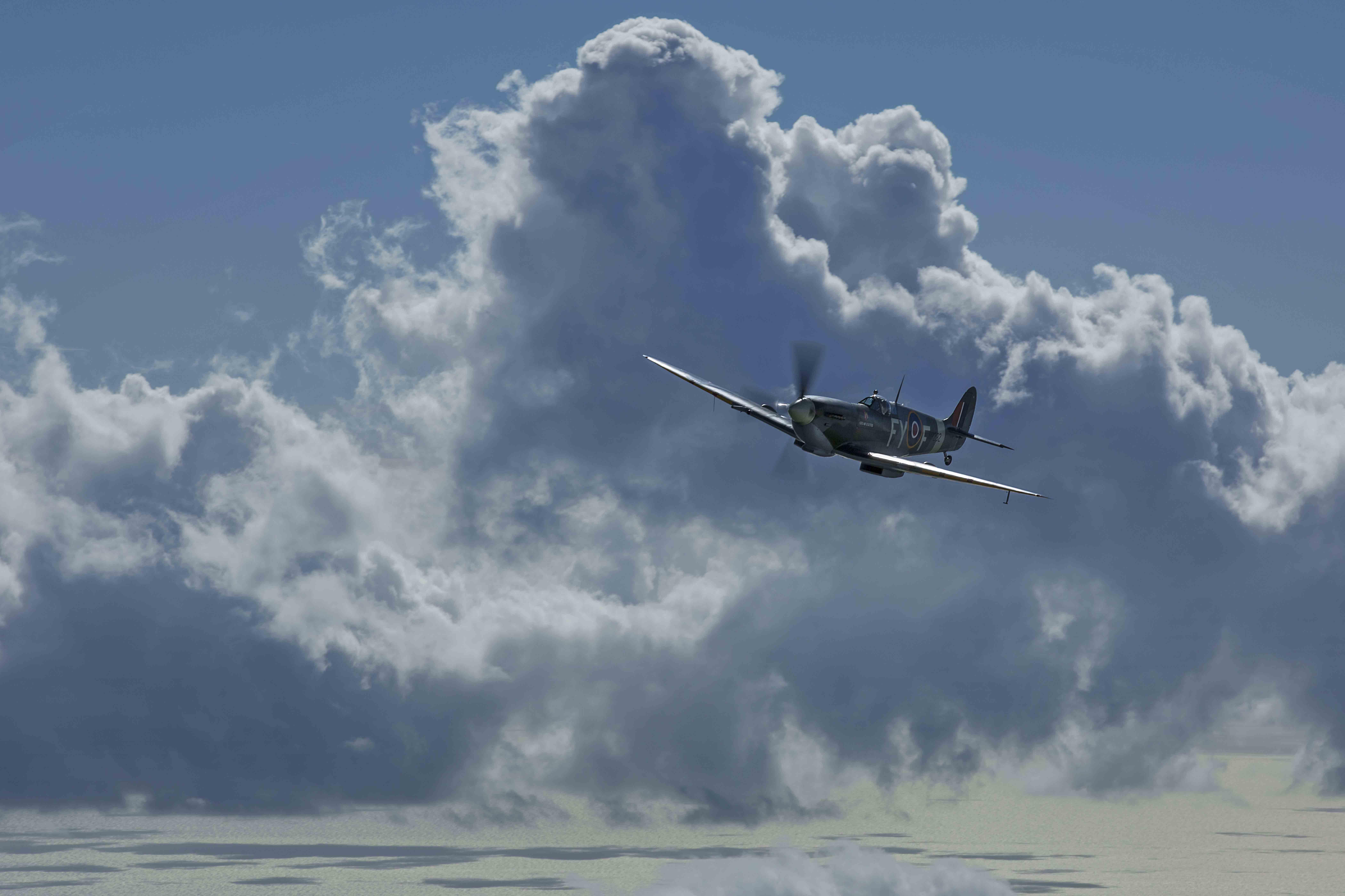 Spitfire Flight Experiences from Goodwood Aerodrome, UK